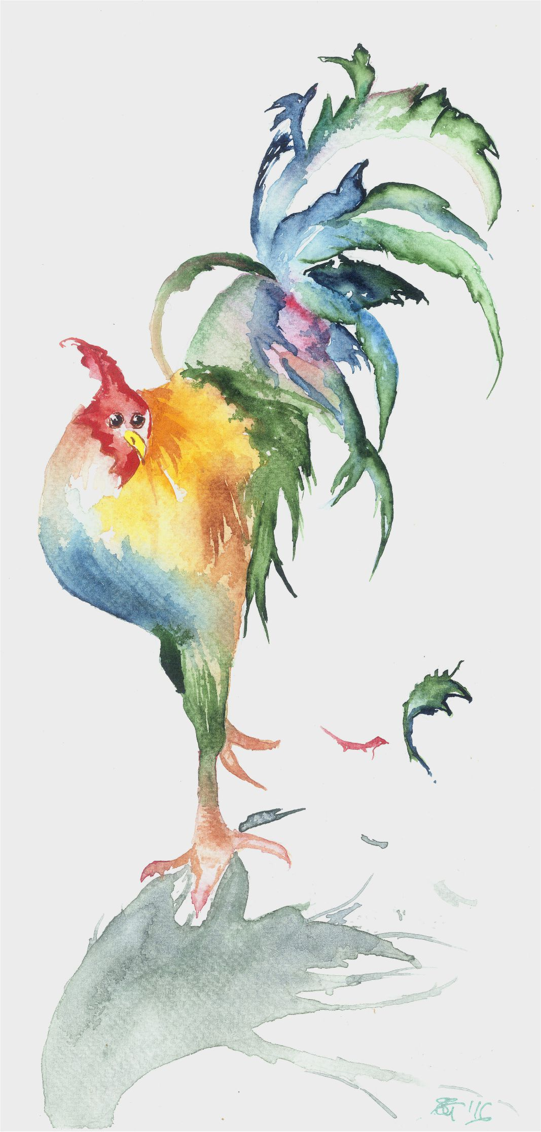 Tall Rooster!